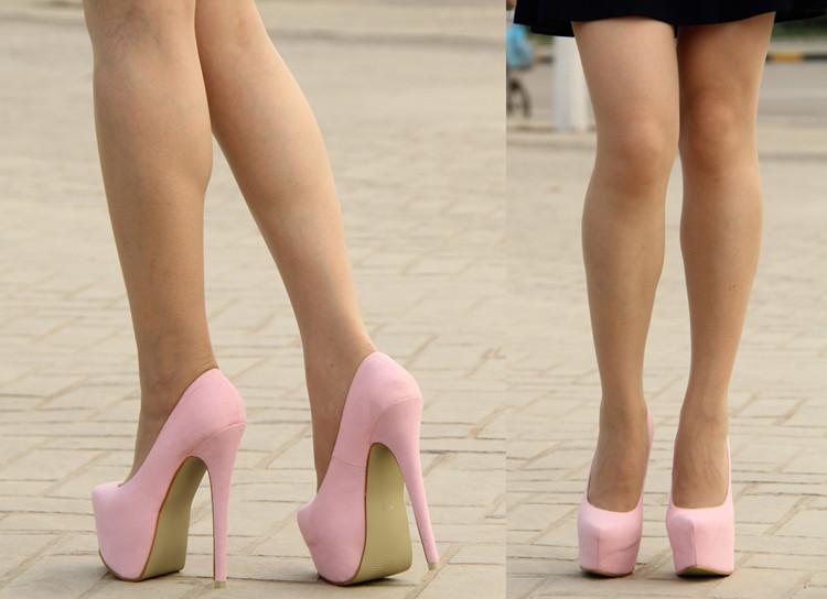 Туфли шпильки 16 см фото